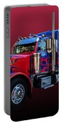 Optimus Prime Red Portable Battery Charger