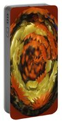 Orange And Yellow Fantasy Portable Battery Charger