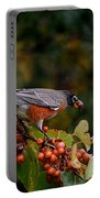 Robin's Orange Buffet Portable Battery Charger