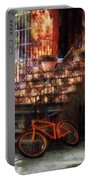 Orange Bicycle By Brownstone Portable Battery Charger