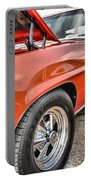 Orange Chevelle Ss 396 Portable Battery Charger