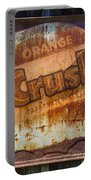 Orange Crush Sign Portable Battery Charger
