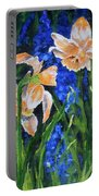 Orange Daffs Portable Battery Charger