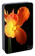 Orange Flower Canna Portable Battery Charger