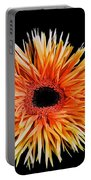 Orange Flower  Portable Battery Charger