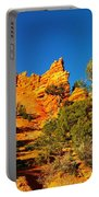 Orange Foreground A Blue Blue Sky  Portable Battery Charger