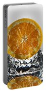 Orange Freshsplash Portable Battery Charger