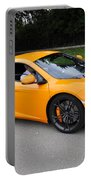 Orange Mclaren Mp4-12c Portable Battery Charger