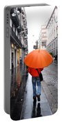 Orange Mood Portable Battery Charger