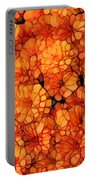 Orange Mums Portable Battery Charger