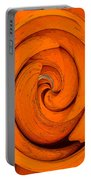 Orange Peal Portable Battery Charger
