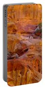 Orange Rock Formation Portable Battery Charger