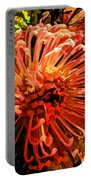 Orange Spice Floral  Portable Battery Charger