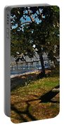 Orange Street Pier Bench Portable Battery Charger