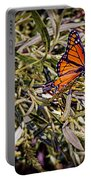 Orange Swallowtail Portable Battery Charger