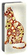 Orange Tabby - Animal Art Portable Battery Charger