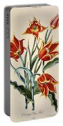Orange Tulip Portable Battery Charger