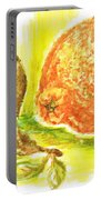 Oranges And Pears Portable Battery Charger
