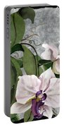 Orchid A - Phalaenopsis Portable Battery Charger