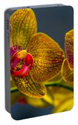 Orchid Color Portable Battery Charger