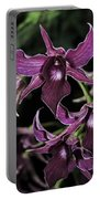 Orchid Dendrobium Lavender Star 204 Portable Battery Charger