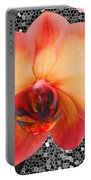 Orchid Explosion Portable Battery Charger
