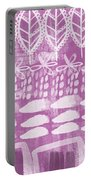 Orchid Fields Portable Battery Charger