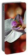 Orchid Flower Photographic Art Portable Battery Charger
