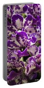 Orchid Grouping Portable Battery Charger