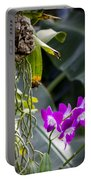 Orchid In Bloom Portable Battery Charger
