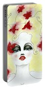 Orchid Lady Portable Battery Charger