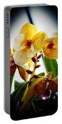 Orchid Vignette Portable Battery Charger