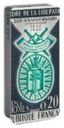 Order Of The 20th Anniversary Release 17 November 1940 To 1960 Patriam Servando Victoriam Tulit Portable Battery Charger