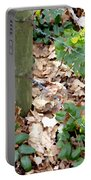 Oregon Grape Painting Portable Battery Charger