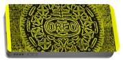 Oreo Hope Yellow Portable Battery Charger