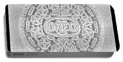 Oreo In Grey Portable Battery Charger