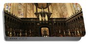 Organ And Choir - King's College Chapel Portable Battery Charger