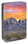 Organ Mountain Sunrise Most Viewed  Portable Battery Charger