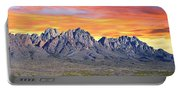 Organ Mountain Sunrise  Portable Battery Charger