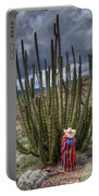 Organ Pipe Cactus The Visitor 1 Portable Battery Charger