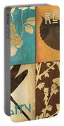 Organic Nature 4 Portable Battery Charger by Debbie DeWitt