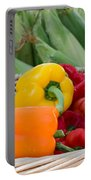 Organic Sweet Bell Peppers Portable Battery Charger