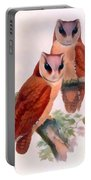 Oriental Bay Owl Portable Battery Charger