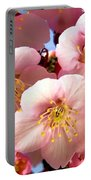 Oriental Flowers Portable Battery Charger