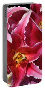 Oriental Lily Portable Battery Charger