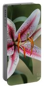 Oriental Lily Named Tiger Edition Portable Battery Charger