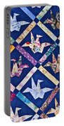 Origami Quilt Wall Art Prints Portable Battery Charger