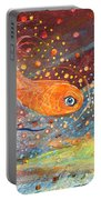 Original Painting Fragment 09 Portable Battery Charger