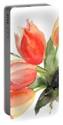 Original Tulips Flowers Portable Battery Charger