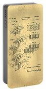 Original Us Patent For Lego Portable Battery Charger by Edward Fielding